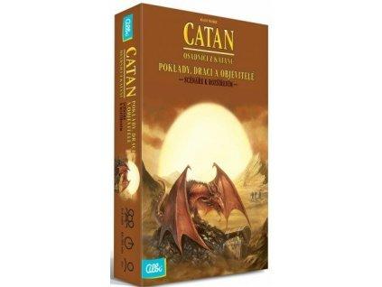 Catan - Osadníci z Katanu - Poklady, draci a objevitelé