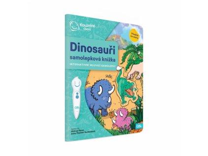 Kouzelné čtení - Dinosauři - samolepková knížka