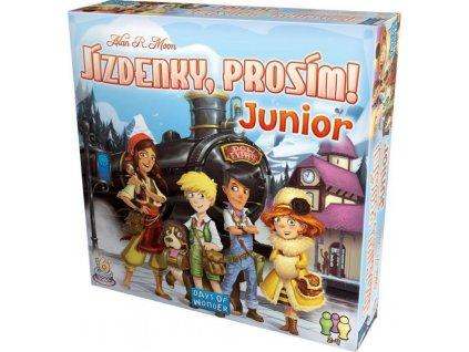 jizdenky prosim junior ticket to ride junior cz 6
