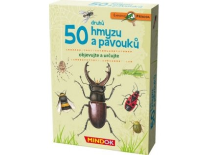 mindok expedice priroda 50 druhu hmyzu a pavouku mind217 490x380