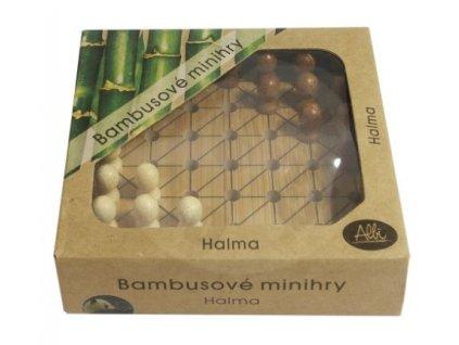 bambusove minihry halma