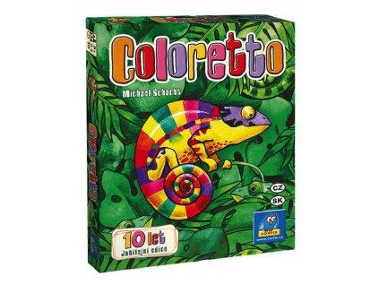Coloretto Jubilejni Edice Obalka