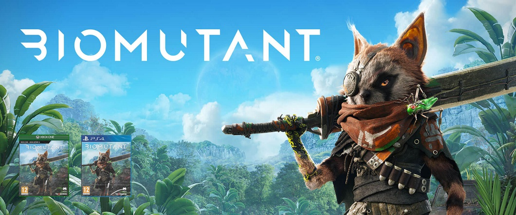 BIOMUTANT PRO PS4 A XBOX ONE & SERIES