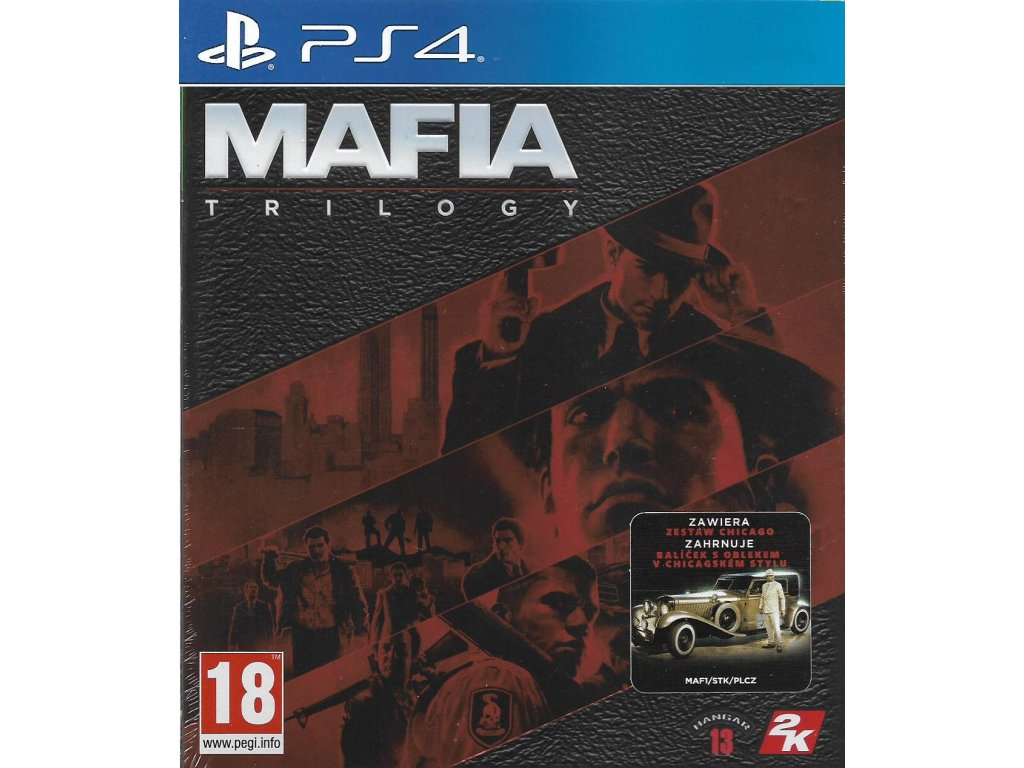 MAFIA TRILOGY (PS4 nová)