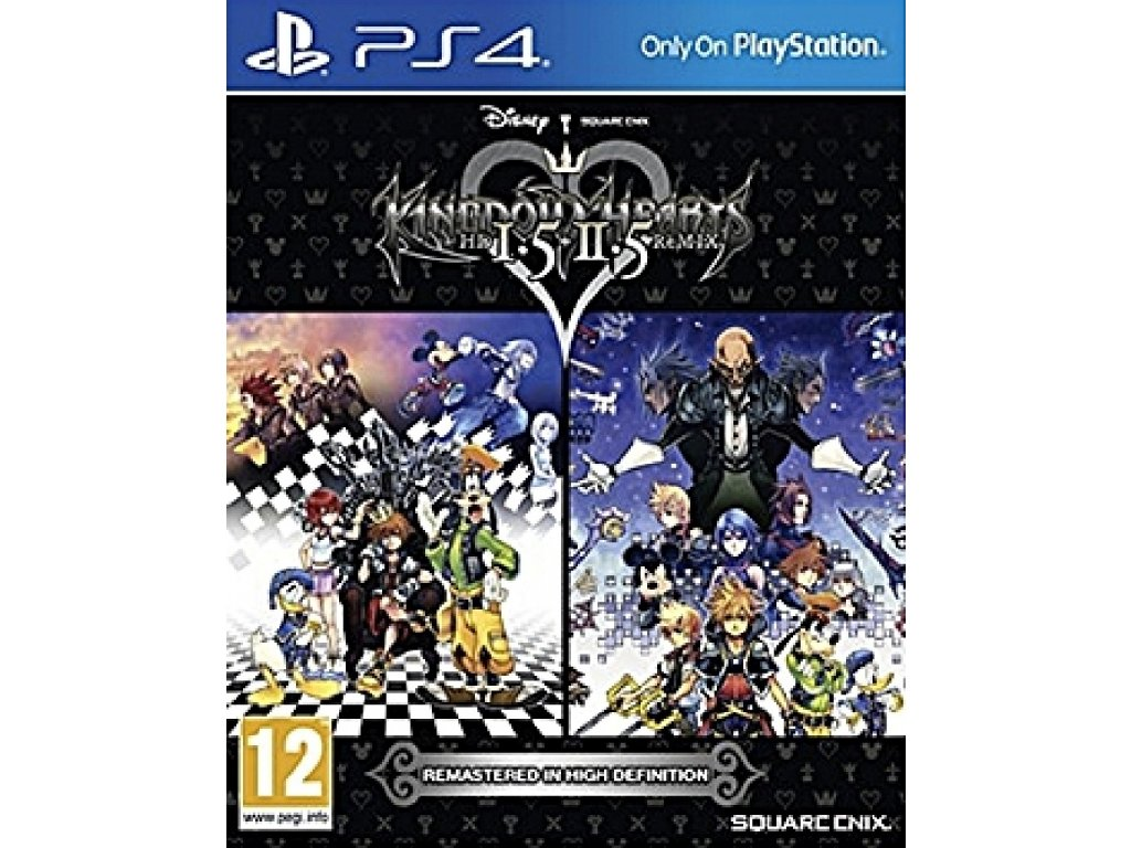 KINGDOM HEARTS 1.5 & 2.5 HD REMIX