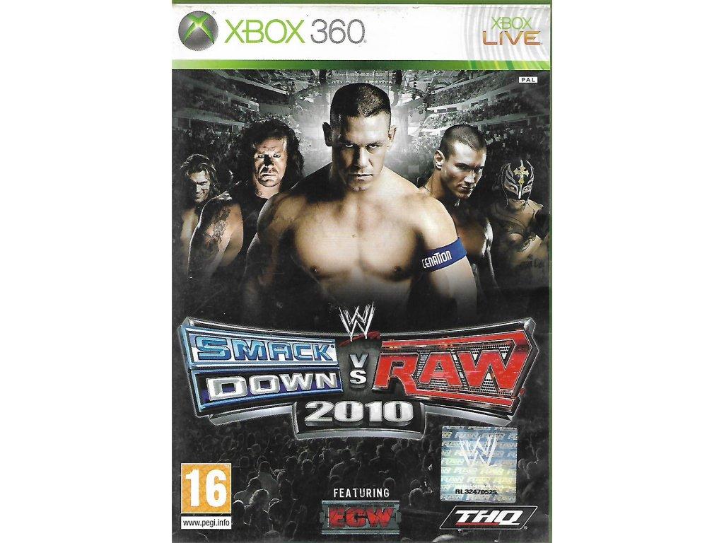 WWE SMACK DOWN VS RAW 2010