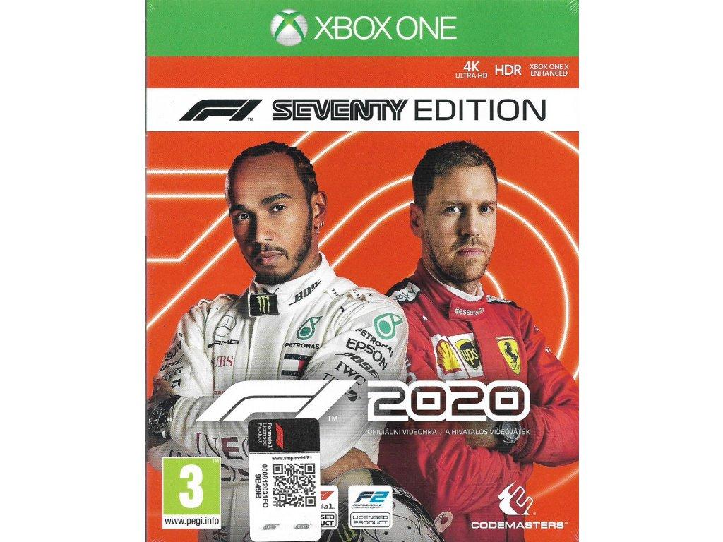 F1 2020 FORMULA ONE 2020 SEVENTY EDITION