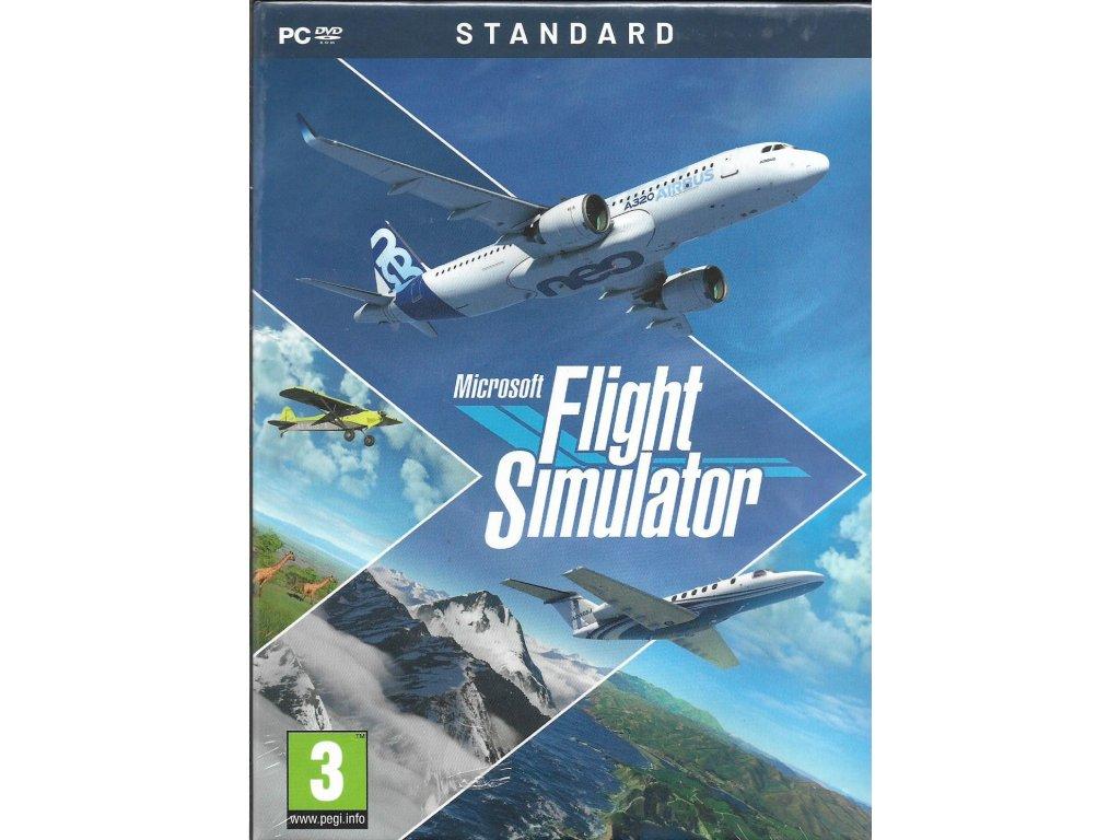 MICROSOFT FLIGHT SIMULATOR STANDARD EDITION (PC nová)