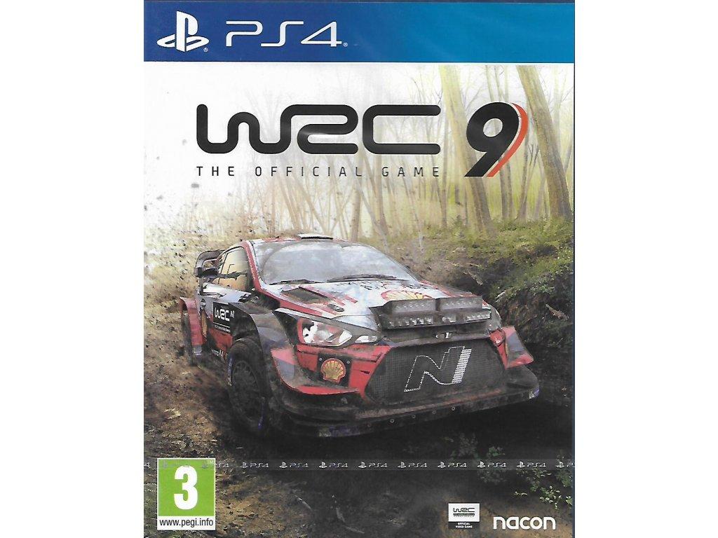 WRC 9 (PS4 nová)