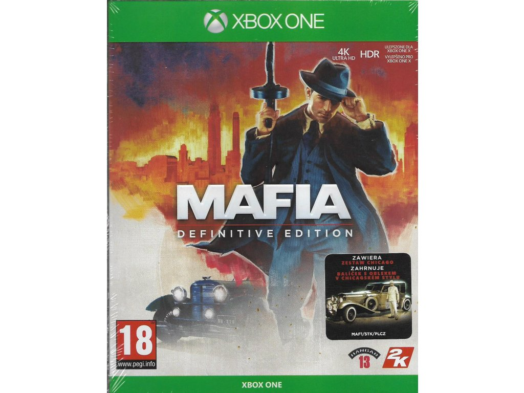 MAFIA DEFINITIVE EDITION (XBOX ONE nová)