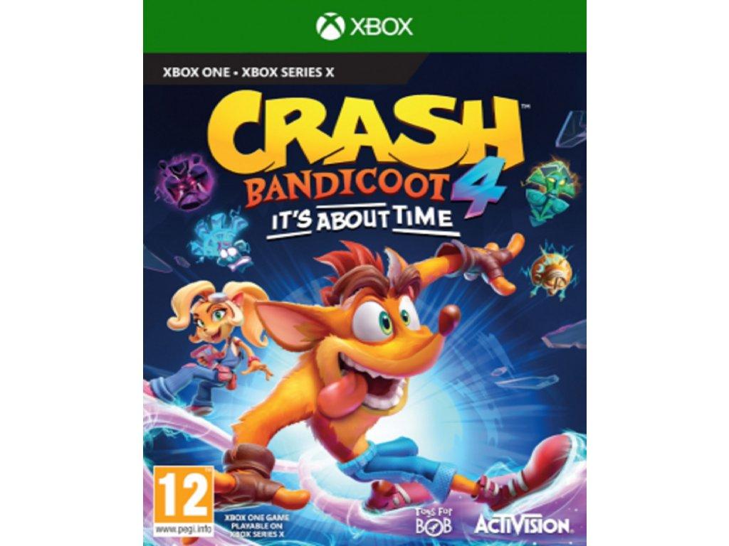 CRASH BANDICOOT 4 ITS ABOUT TIME (XBOX ONE nová)