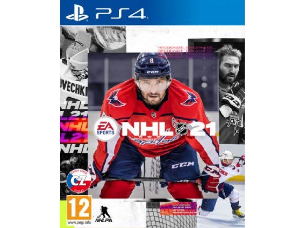 NHL 21 (PS4 nová)