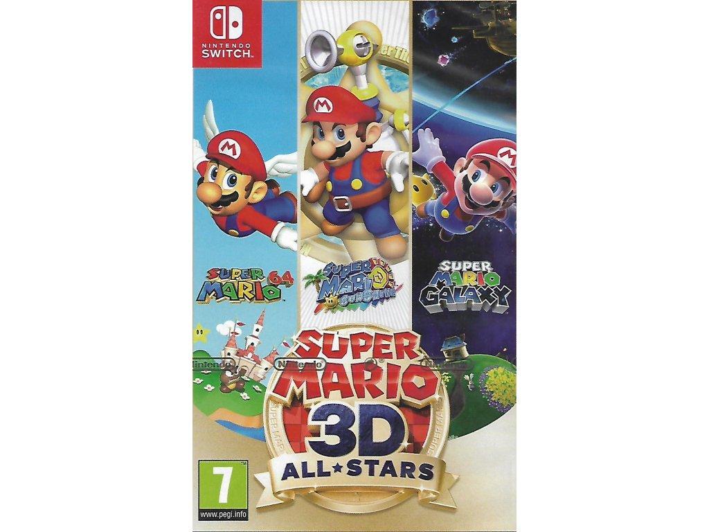SUPER MARIO 3D ALL STARS (SWITCH nová)