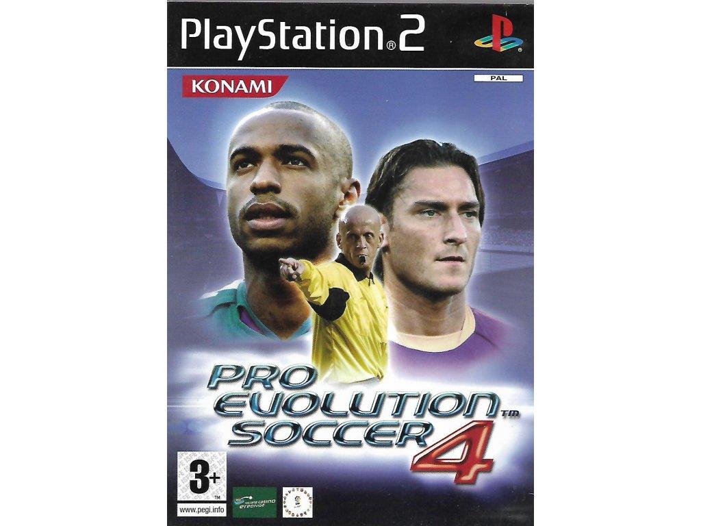 PRO EVOLUTION SOCCER 4 (PS2 bazar)