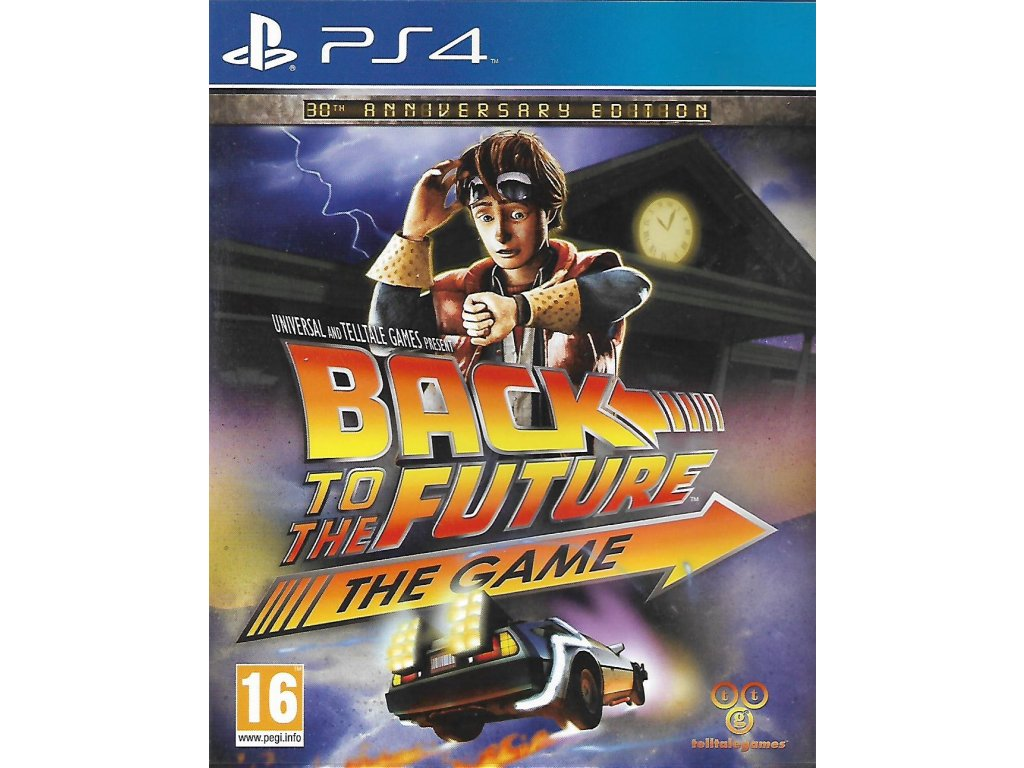 BACK TO THE FUTURE THE GAME (PS4 bazar)