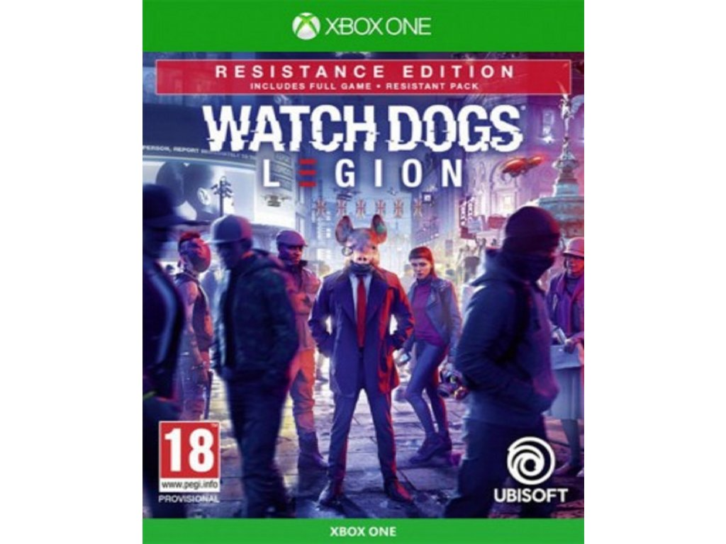 WATCH DOGS LEGION RESISTANCE EDITION (XBOX ONE nová)
