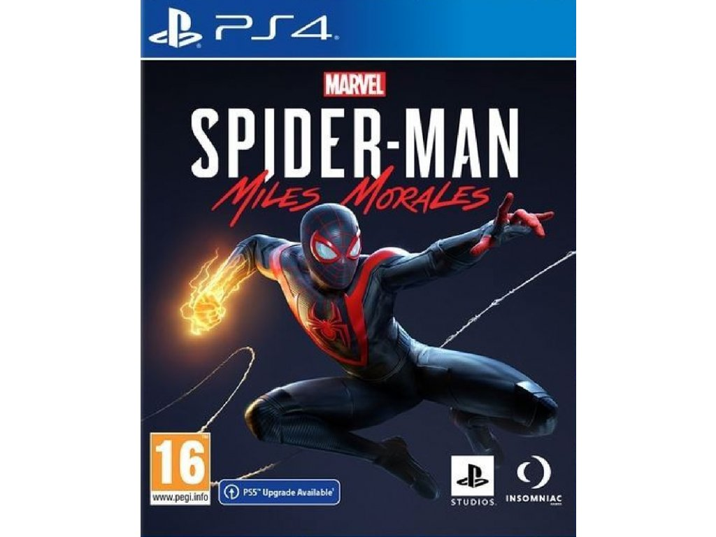 MARVEL SPIDER MAN MILES MORALES (PS4 nová)