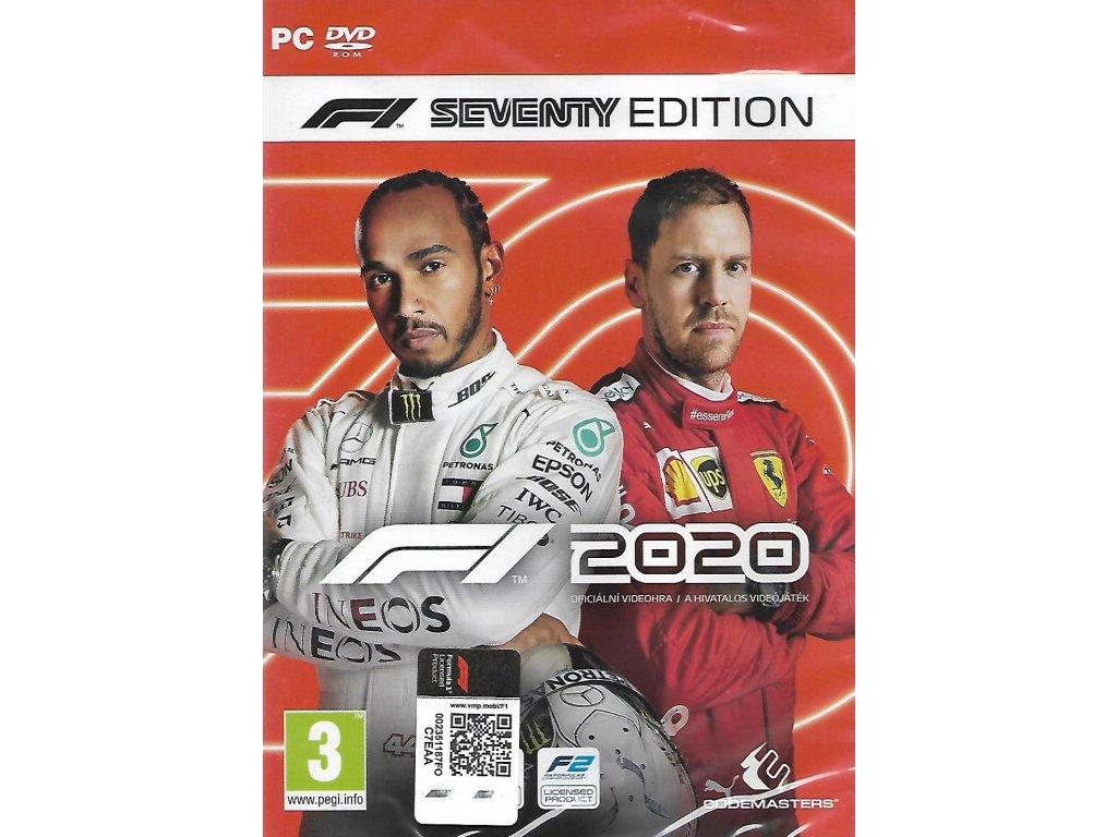 F1 2020 FORMULA ONE 2020 SEVENTY EDITION (PC nová)