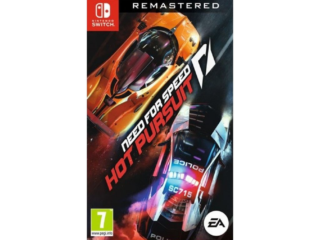 NEED FOR SPEED HOT PURSUIT REMASTERED (SWITCH nová)