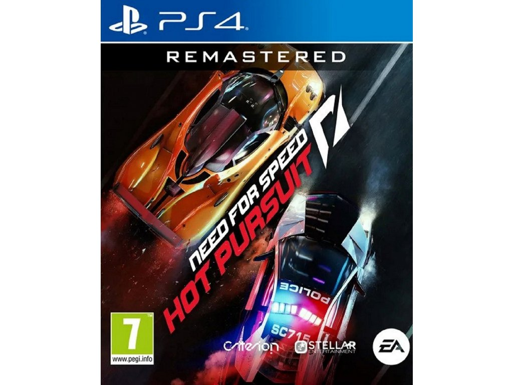 NEED FOR SPEED HOT PURSUIT REMASTERED (PS4 nová)