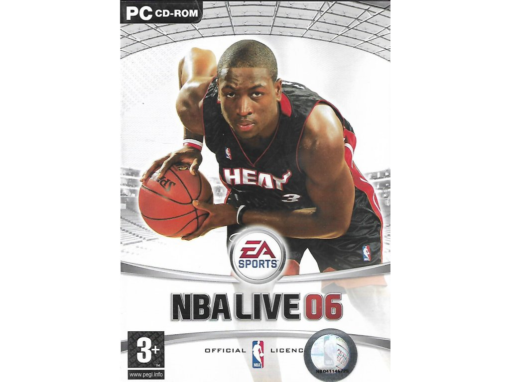 NBA LIVE 06 (PC bazar)
