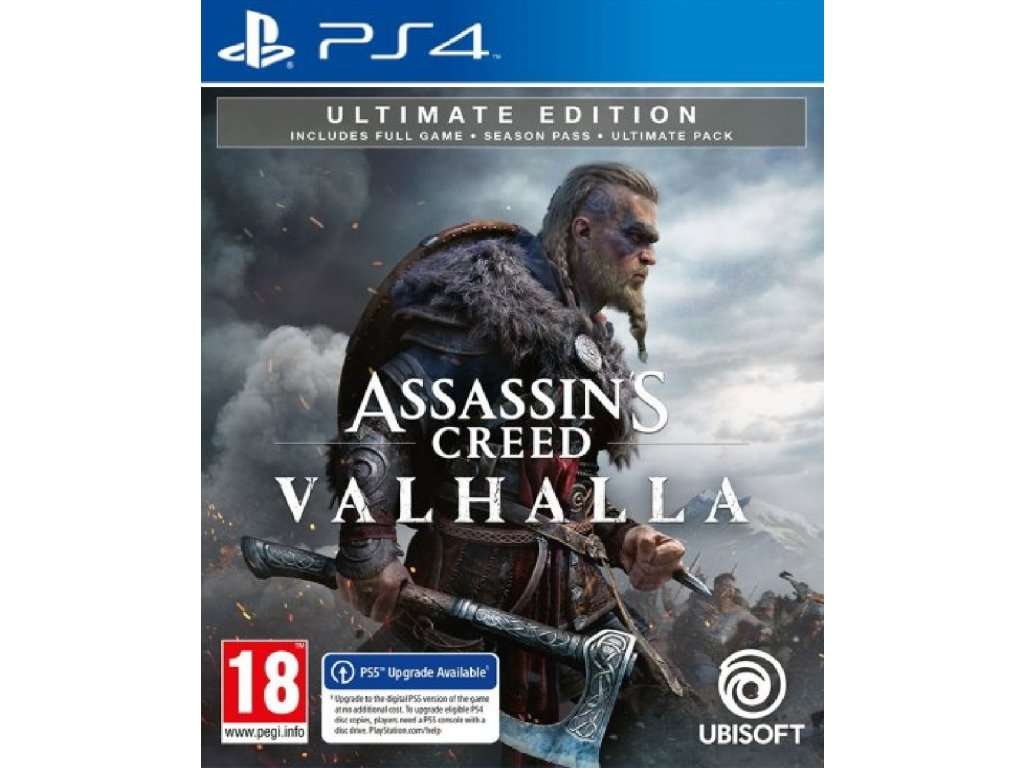 ASSASSIN'S CREED VALHALLA ULTIMATE EDITION (PS4 nová)