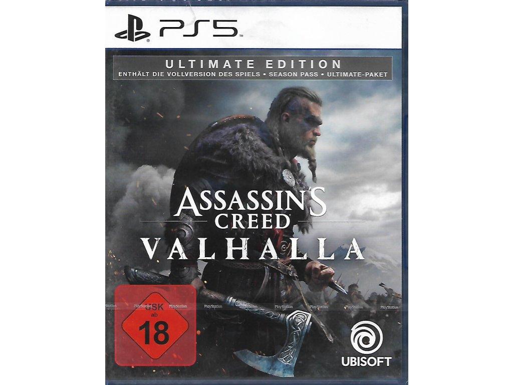 ASSASSIN'S CREED VALHALLA ULTIMATE EDITION (PS5 nová)