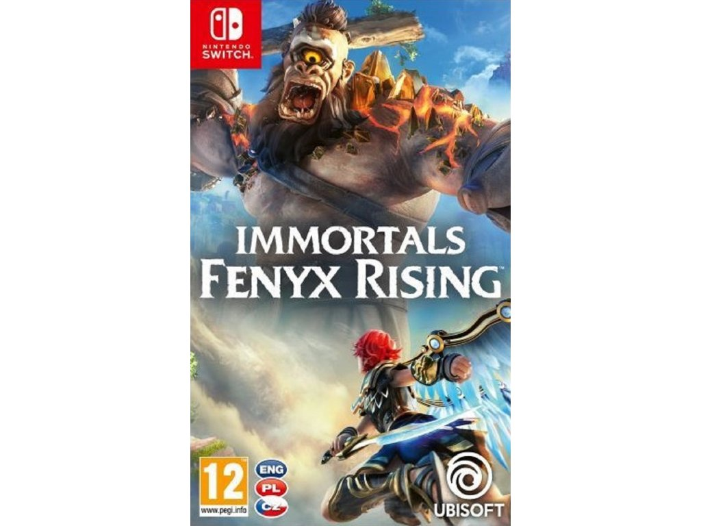 IMMORTALS FENYX RISING (SWITCH nová)