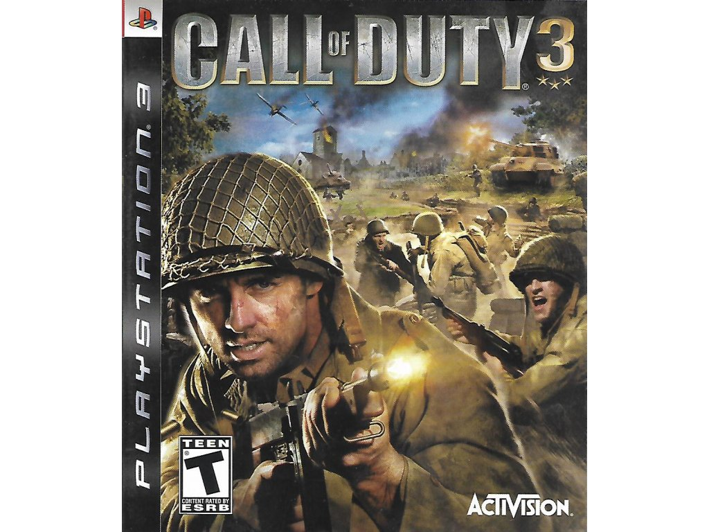 CALL OF DUTY 3 (PS3 bazar)