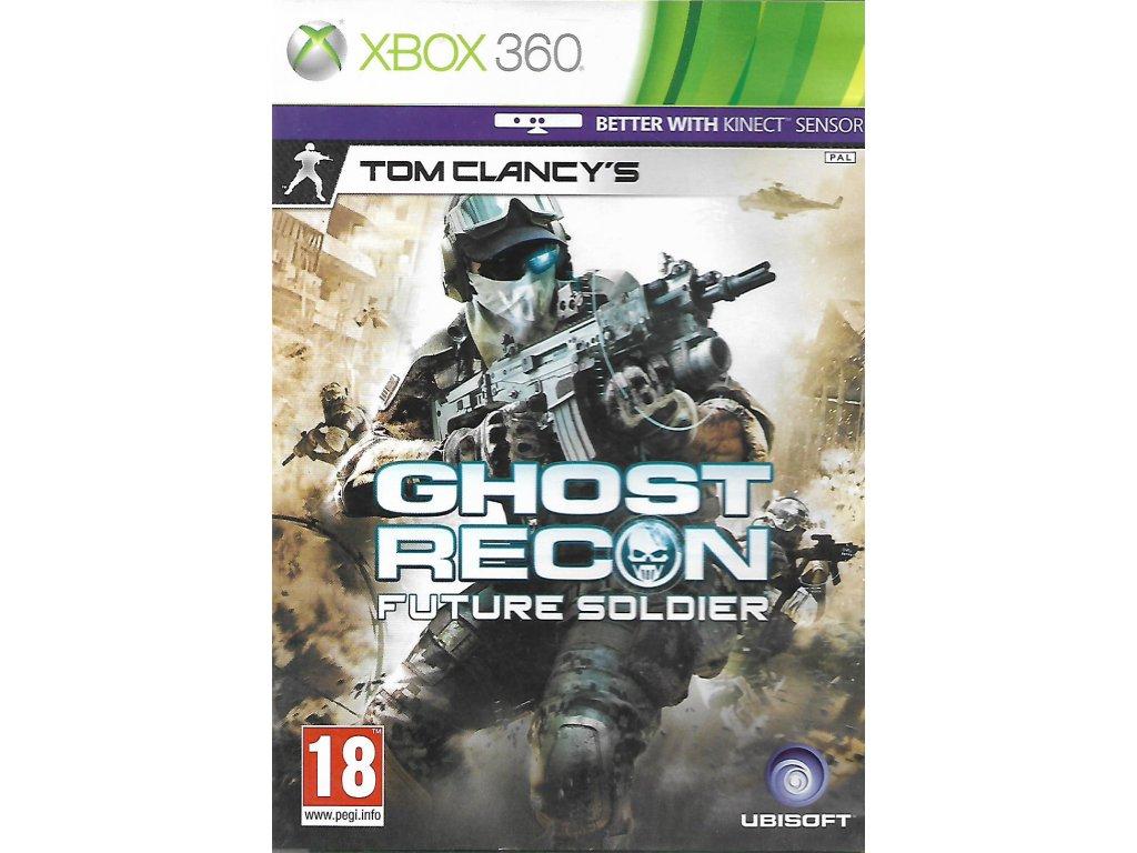 TOM CLANCY'S GHOST RECON FUTURE SOLDIER (XBOX 360 bazar)