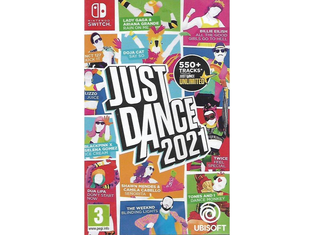 JUST DANCE 2021 (SWITCH nová)