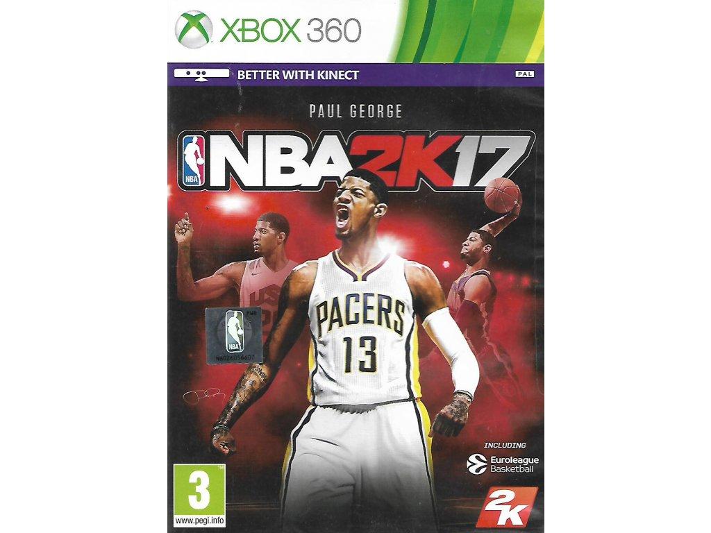 NBA 2K17 (XBOX 360 bazar)