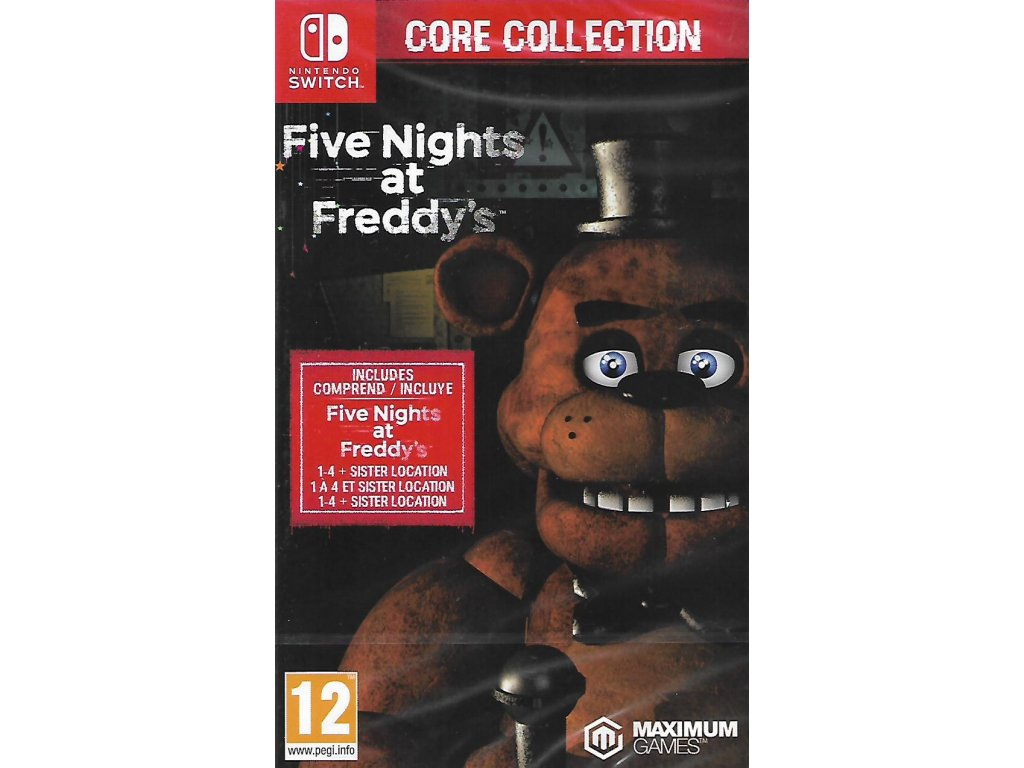 FIVE NIGHTS AT FREDDY'S CORE COLLECTION (SWITCH nová)