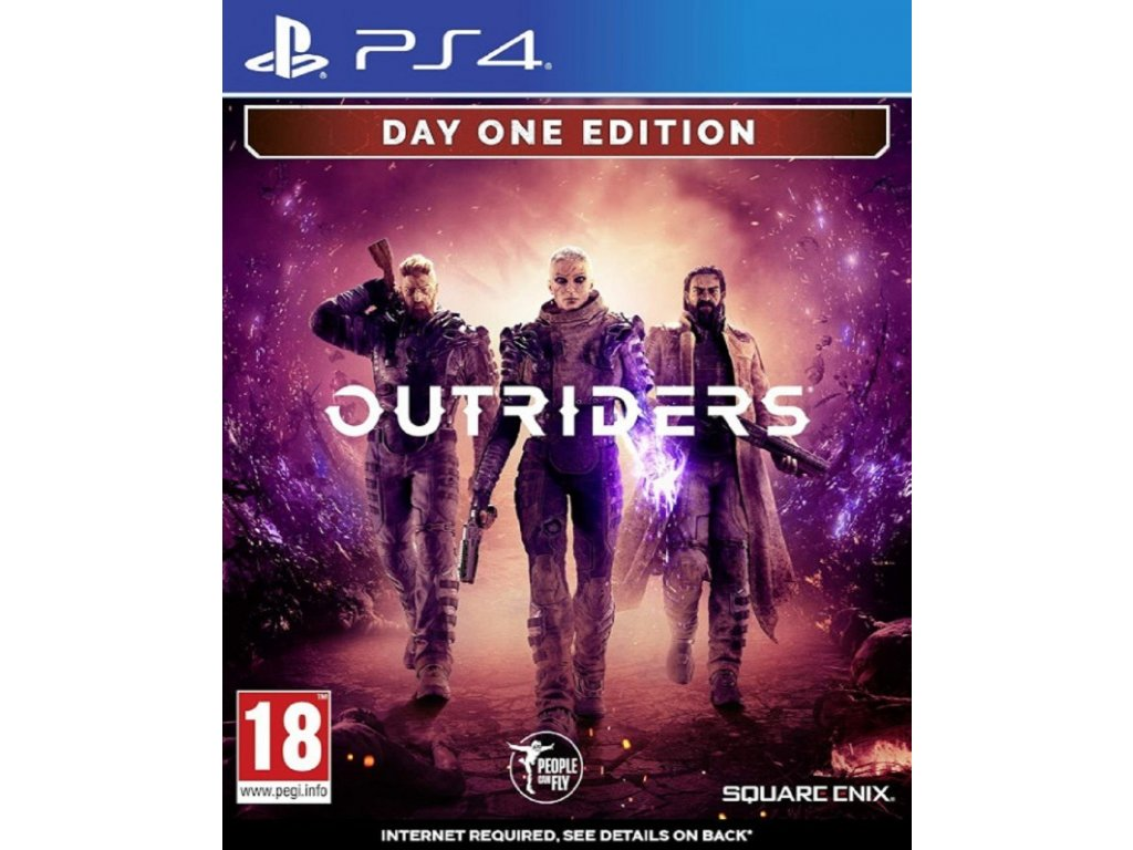 OUTRIDERS DAY ONE EDITION (PS4 nová)