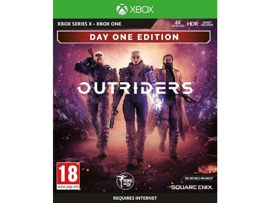OUTRIDERS DAY ONE EDITION (XBOX ONE SERIES nová)