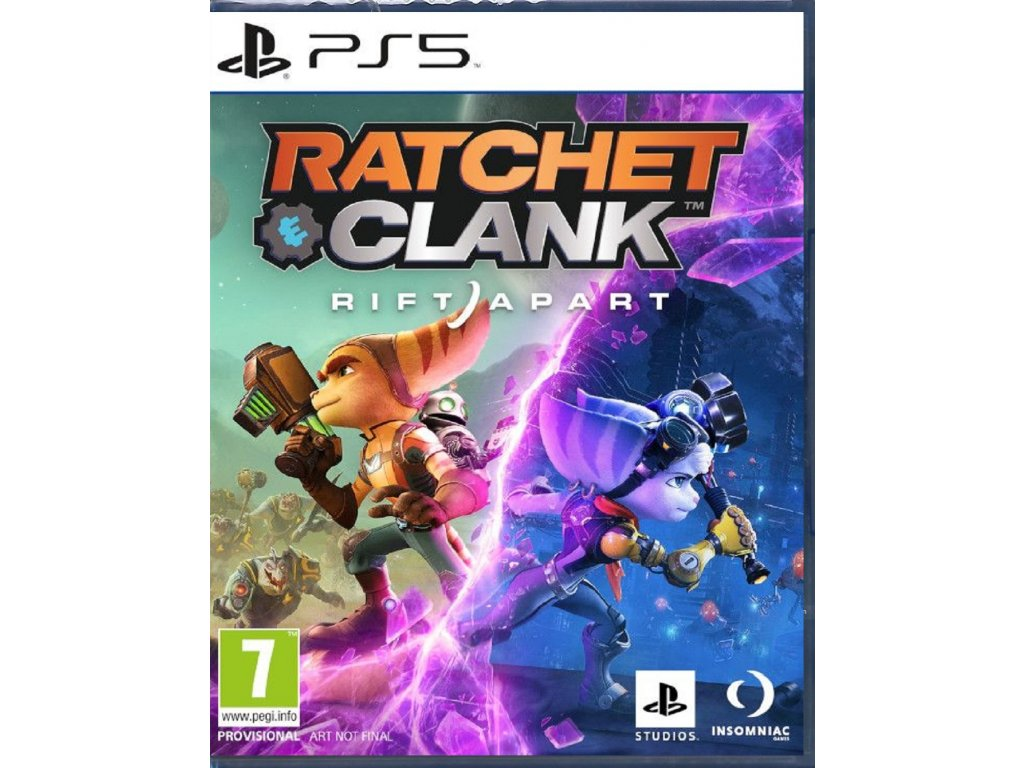 RATCHET & CLANK RIFT APART (PS5 nová)