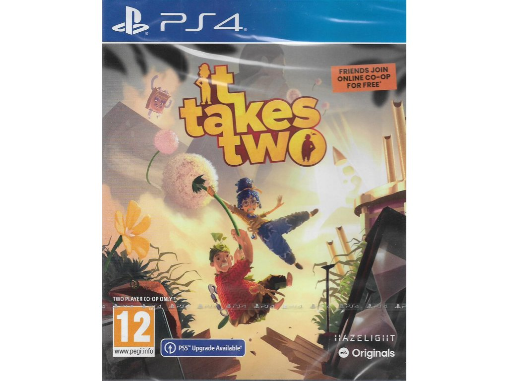 IT TAKES TWO (PS4 NOVÁ)