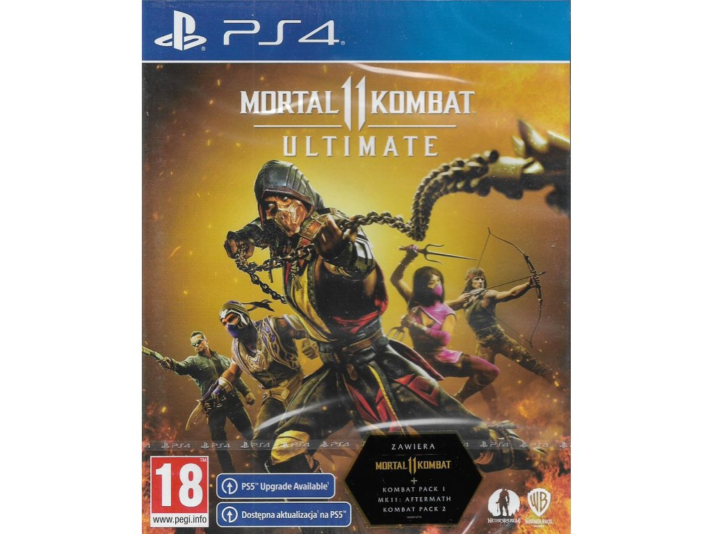 MORTAL KOMBAT 11 ULTIMATE EDITION (PS4 NOVÁ)