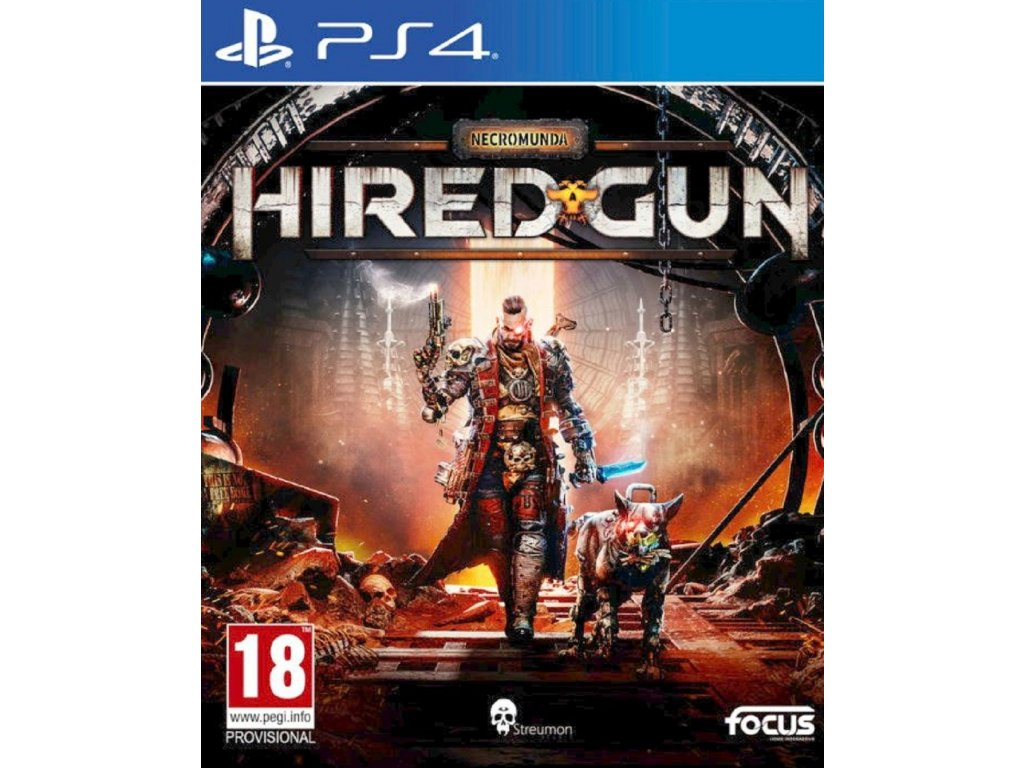 NECROMUNDA HIRED GUN (PS4 NOVÁ)