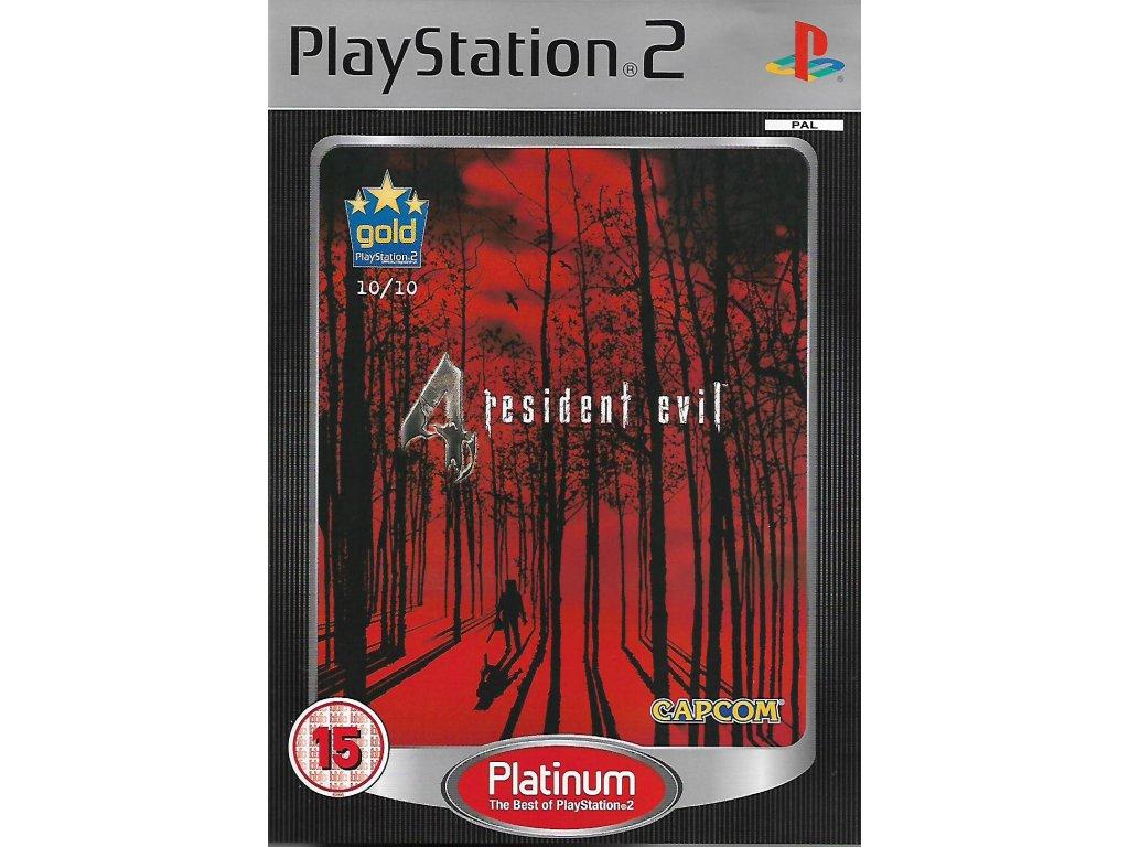 RESIDENT EVIL 4 (PS2 BAZAR)