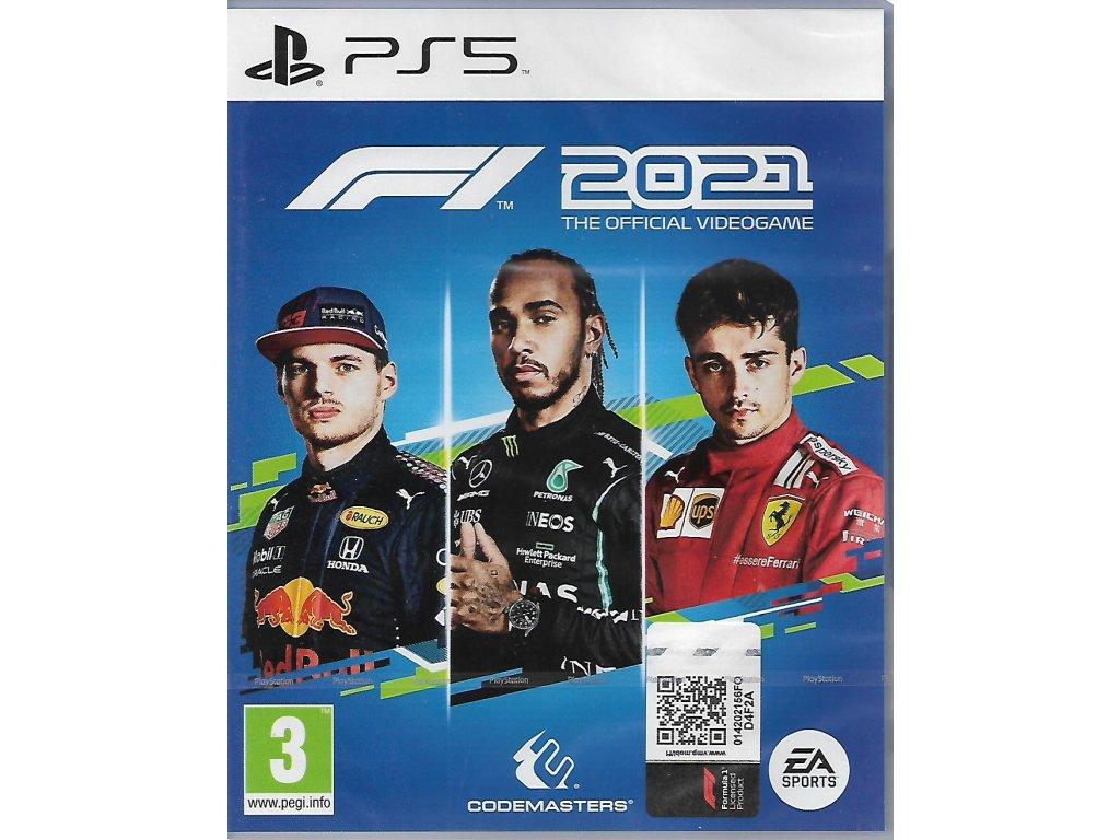 F1 2021 THE OFFICIAL VIDEOGAME (PS5 NOVÁ)