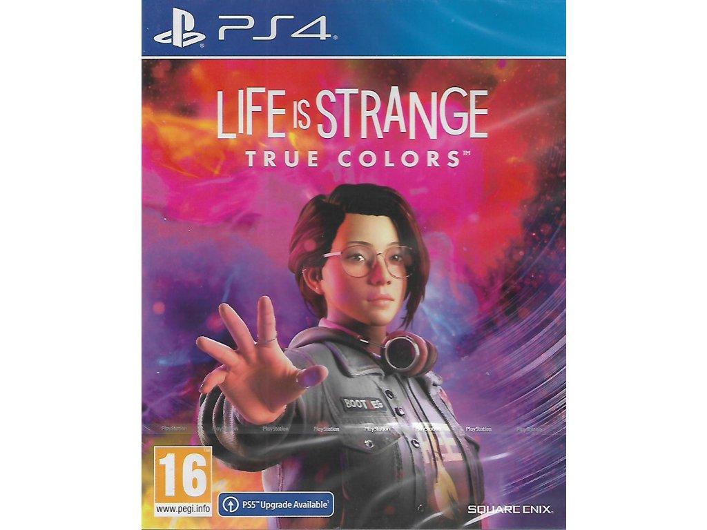 LIFE IS STRANGE TRUE COLORS (PS4 NOVÁ)