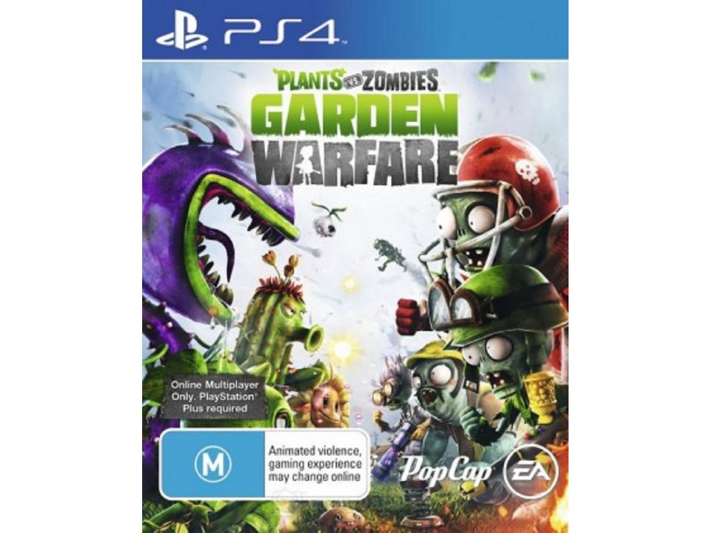 PLANTS VS ZOMBIE GARDEN WARFARE