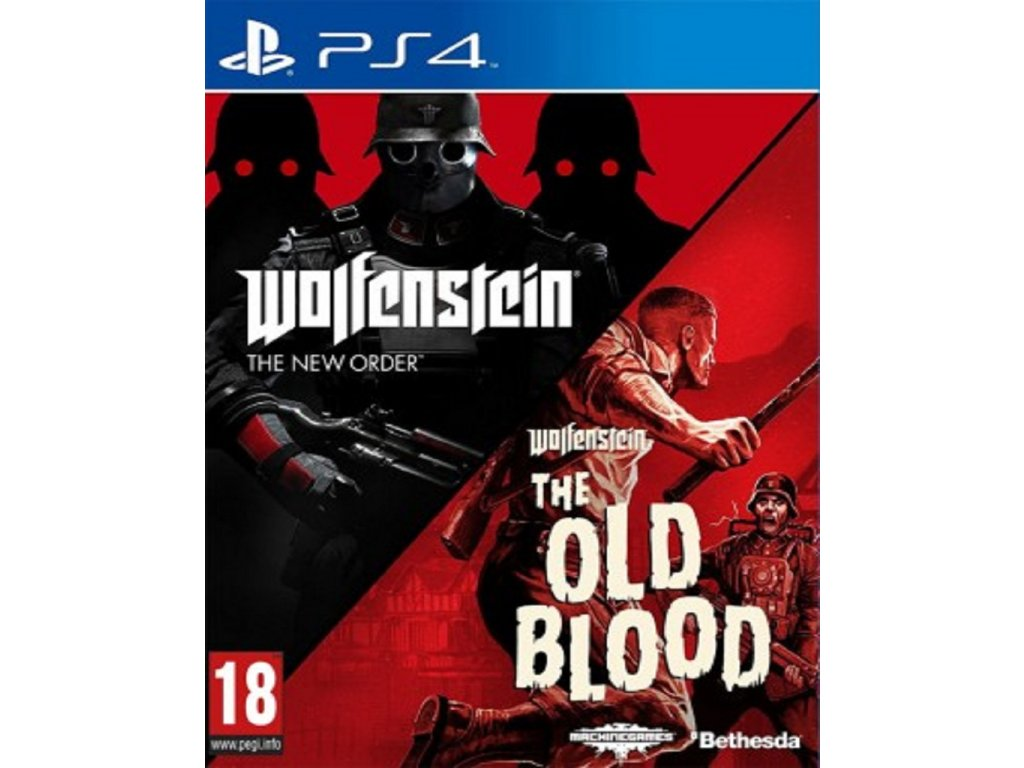 WOLFENSTEIN THE NEW ORDER + OLD BLOOD