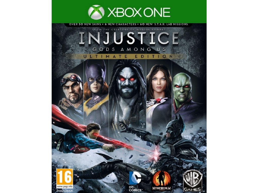 INJUSTICE GODS AMONG US ULTIMATE EDITION