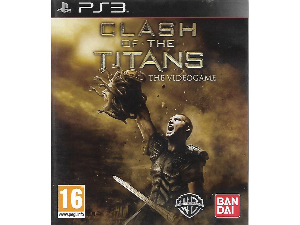 CLASH OF THE TITANS THE VIDEOGAME