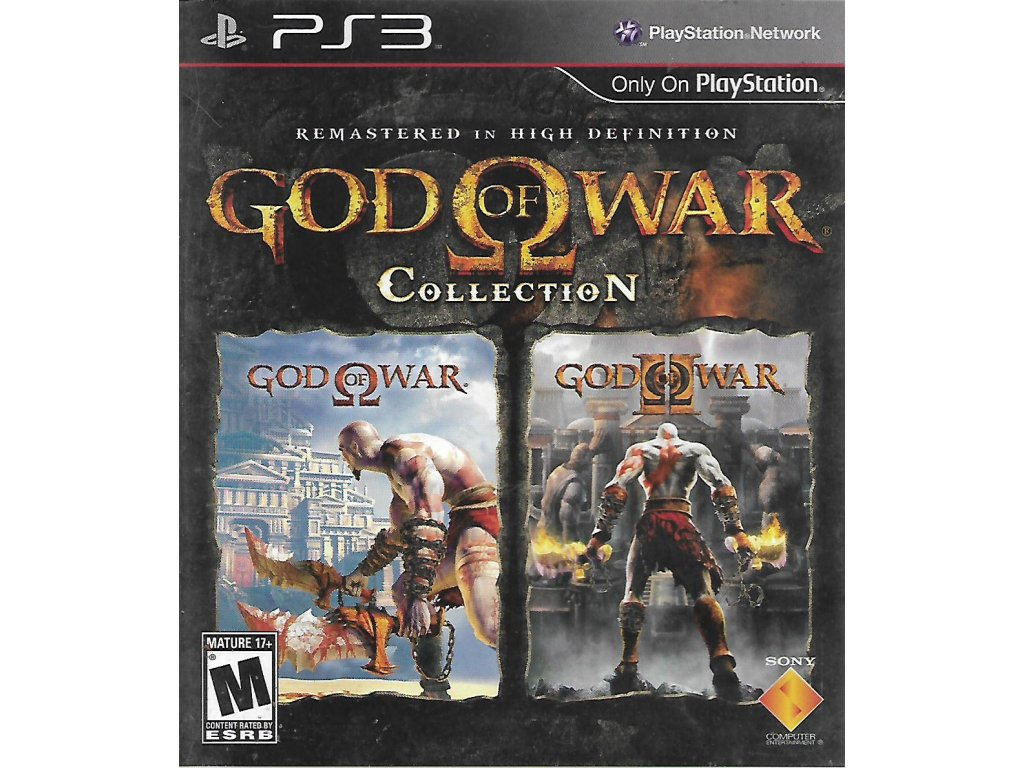 GOD OF WAR PS2 COLLECTION