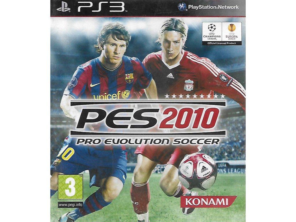 PES 2010 PRO EVOLUTION SOCCER