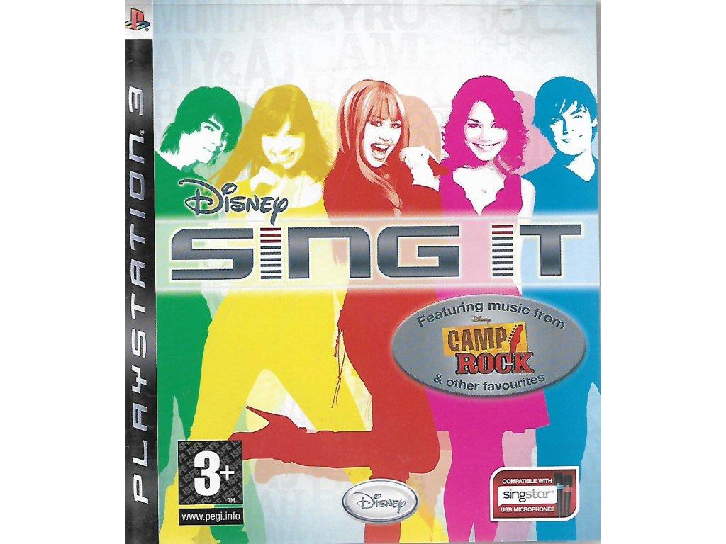 SING IT CAMP ROCK
