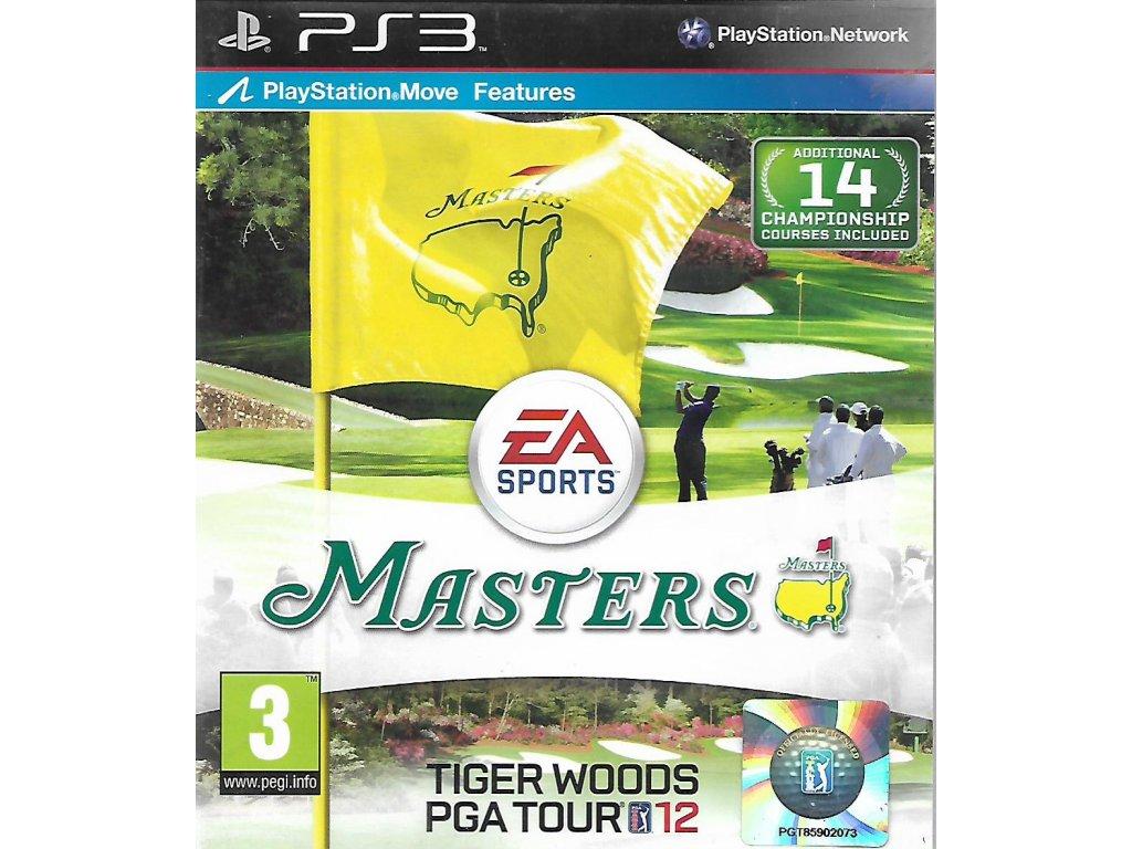 TIGER WOODS PGA TOUR 12 MASTERS